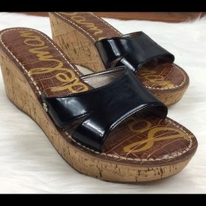 Sam Edelman Reid Patent Leather Wedge